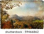 Autumn Vista   Artistic Retro...