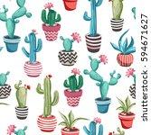 Cacti Flower Background....
