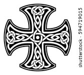 Celtic National Ornament In Th...