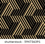 the geometric pattern with... | Shutterstock .eps vector #594736391