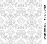 wallpaper in the style of... | Shutterstock .eps vector #594736985