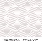 abstract geometric pattern with ... | Shutterstock .eps vector #594737999