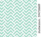 The geometric pattern with stripes . Seamless vector background. Green and white texture. Graphic modern pattern. | Shutterstock vector #594738689