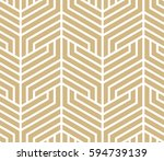 abstract geometric pattern with ... | Shutterstock .eps vector #594739139