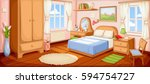 vector illustration of a... | Shutterstock .eps vector #594754727