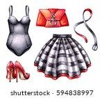 Watercolor Fashion Illustratio...
