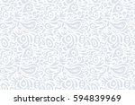 raster illustration. seamless... | Shutterstock . vector #594839969