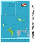 seychelles | Shutterstock .eps vector #594867221