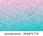 vector abstract bright mosaic...   Shutterstock .eps vector #594871775