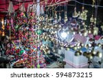 night market  | Shutterstock . vector #594873215