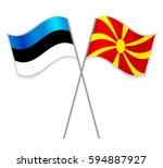 Estonian And Macedonian Crossed ...