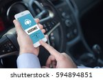 assistance concept | Shutterstock . vector #594894851
