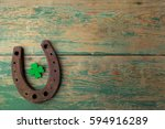 st. patricks day  lucky charms. ... | Shutterstock . vector #594916289
