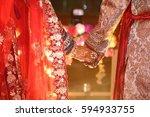 wedding picture groom   bridal  ... | Shutterstock . vector #594933755