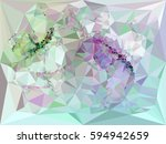 abstract multicolor mosaic...   Shutterstock . vector #594942659