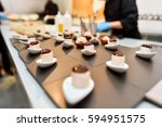 close up of a delicious... | Shutterstock . vector #594951575