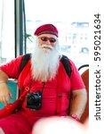 helsinki  finland   august 5 ...   Shutterstock . vector #595021634