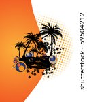 summer vector | Shutterstock .eps vector #59504212