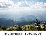 chiangmai   thailand  31... | Shutterstock . vector #595050305