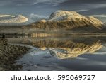 Ben Nevis From Corpach Sea Por...