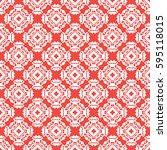 vintage pattern graphic design | Shutterstock .eps vector #595118015