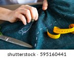 Tailor Man Working In His...