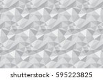 abstract triangle background.... | Shutterstock .eps vector #595223825