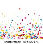 white festive background with... | Shutterstock .eps vector #595229171