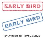 Early Bird Text Textile Seal...