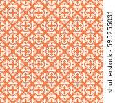 vintage pattern graphic design | Shutterstock .eps vector #595255031