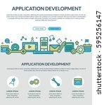 application development concept ...