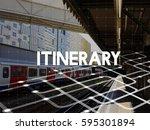 travel expedition destination... | Shutterstock . vector #595301894
