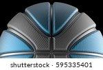 basketball design background.... | Shutterstock . vector #595335401