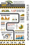 transportation infographics.... | Shutterstock .eps vector #595371215