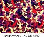 the beautiful of art fabric... | Shutterstock . vector #595397447