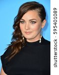 """Small photo of LOS ANGELES, CA. February 7, 2017: Actress Virginia Kull at the premiere for HBO's """"Big Little Lies"""" at the TCL Chinese Theatre, Hollywood."""
