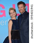 """Small photo of LOS ANGELES, CA. February 7, 2017: Actress Anne Heche & partner actor James Tupper at the premiere for HBO's """"Big Little Lies"""" at the TCL Chinese Theatre, Hollywood."""