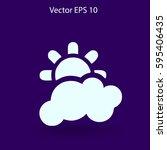 weather vector illustration | Shutterstock .eps vector #595406435