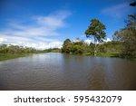 amazon river | Shutterstock . vector #595432079