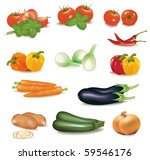 the big colorful group of... | Shutterstock .eps vector #59546176