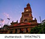 Sydney Town Hall At Dusk  ...
