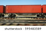 freight train with cargo