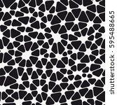 vector seamless pattern. modern ... | Shutterstock .eps vector #595488665