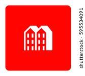 hotel icon. | Shutterstock .eps vector #595534091