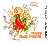 Illustration Of Gudi Padwa  ...