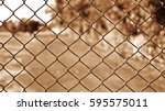 Steel Wire Mesh Fence Vintage...