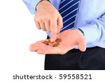 Disappointed Businessman With...