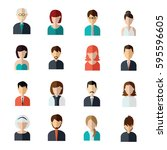 Set Of People Vector With Styl...