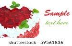 strawberry pie.   Shutterstock . vector #59561836