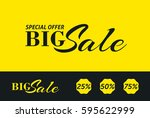 sale banner template design....   Shutterstock .eps vector #595622999